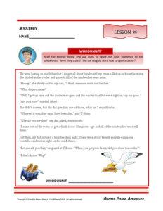 Lesson 26 RL.3.1
