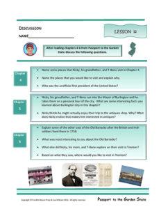 Lesson 12 RL3.1, RL.3.3, SL.3.1
