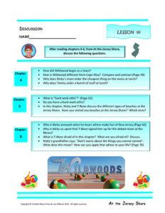 Lesson 10 RL.4.1, RL.4.3, SL.4.1