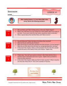 Lesson 27 RL.4.1, RL.4.2, RL.4.3, SL.4.1