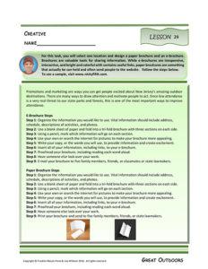 Lesson 24 RI.5.7, RI.5.9, SL.5.2