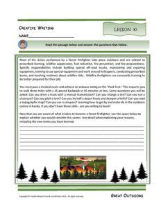 Lesson 30 W.5.1, W.5.4