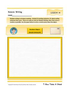 Lesson 28 W.5.2, W.5.6, W.5.8, RL.5.7, SL.5.5