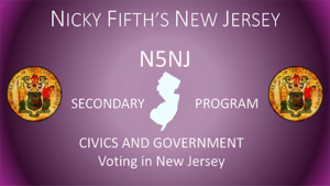Voting in New Jersey